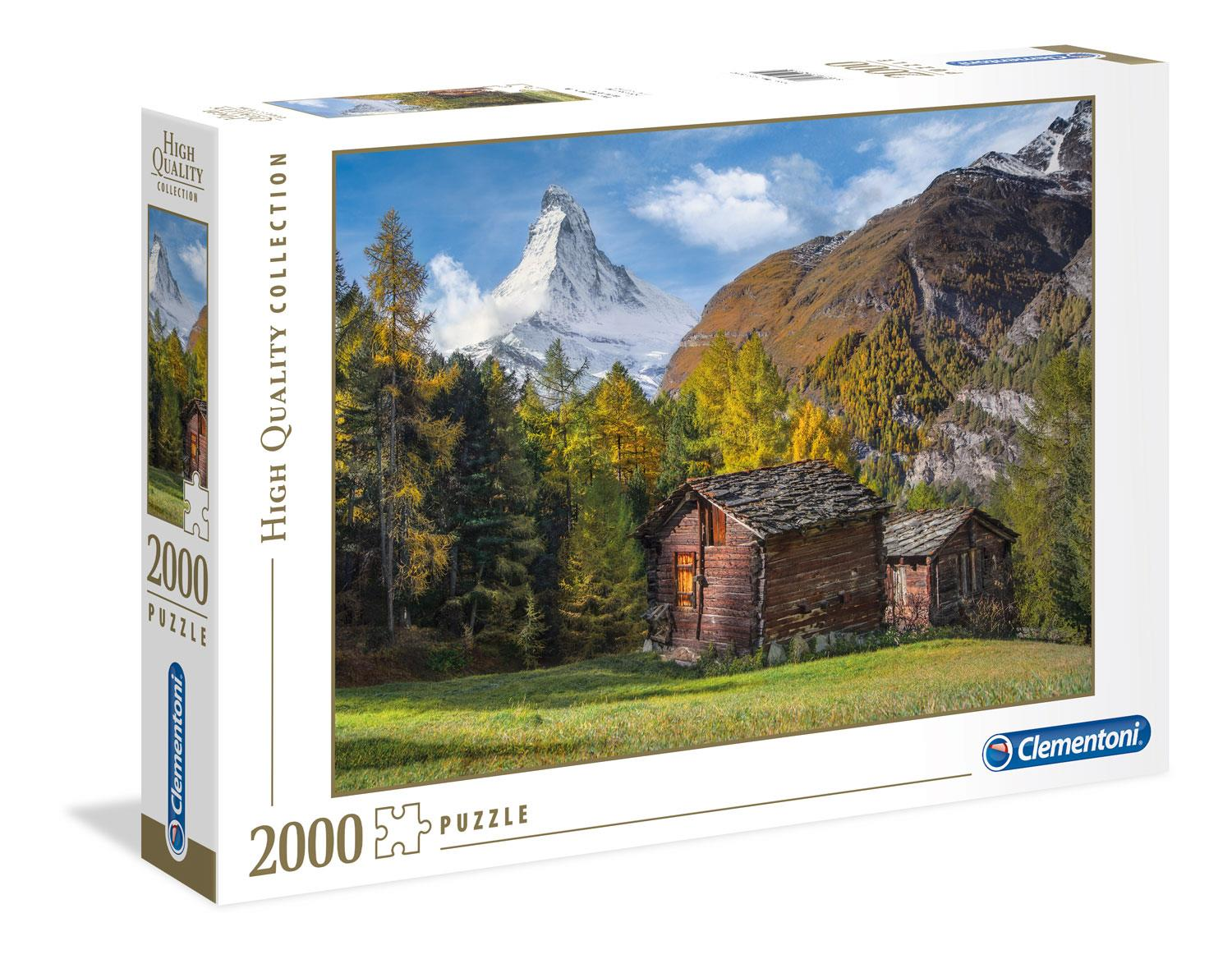 Clementoni Fascination With Matterhorn High Quality Jigsaw Puzzle (2000 Pieces)