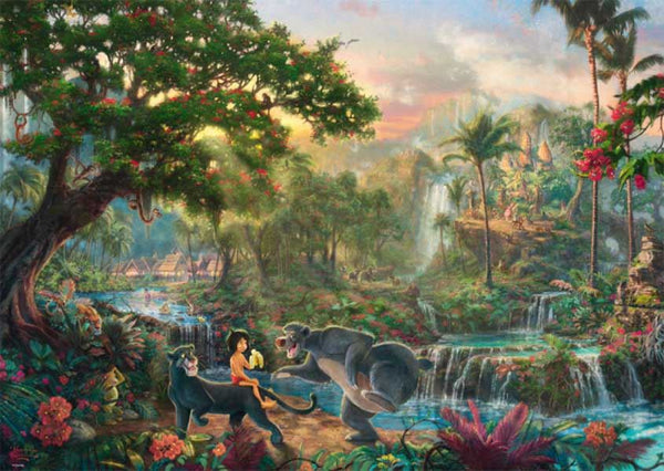 Schmidt Kinkade: Disney The Jungle Book Jigsaw Puzzle (1000 pieces)