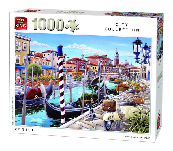 King Venice Jigsaw Puzzle (1000 Pieces)