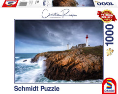 Schmidt St. Mathieu Lighthouse, Christian Ringer Jigsaw Puzzle (1000 Pieces)