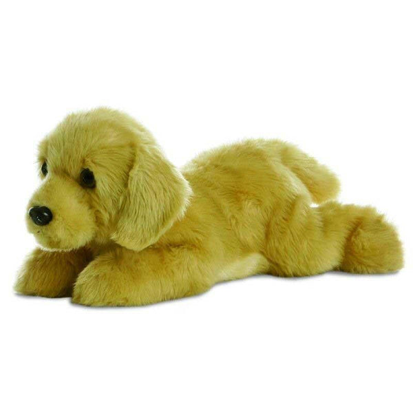 Aurora Flopsies - Golden Labrador Dog Soft Toy 30cm