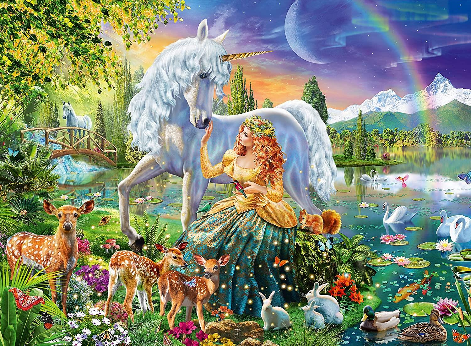 Ravensburger Magical Encounter Jigsaw Puzzle (200 Pieces)