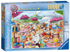 Ravensburger Best of British - The Cruise Ship Jigsaw Puzzle (1000 Pieces)