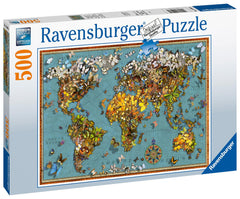 Ravensburger World of Butterflies Jigsaw Puzzle (500 Pieces)