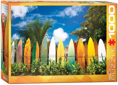 Eurographics Surfer's Paradise, Hawaii Jigsaw Puzzle (1000 Pieces)