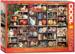 Eurographics Christmas Ornaments Jigsaw Puzzle (1000 Pieces)