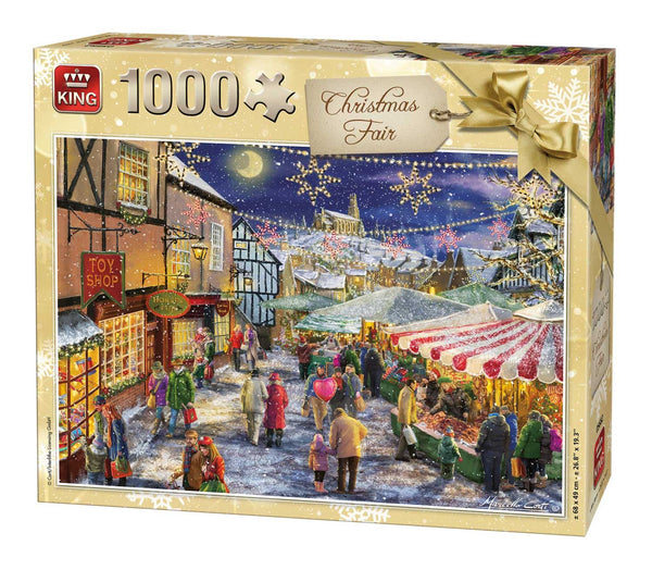 King Christmas Fair Jigsaw Puzzle (1000 Pieces)