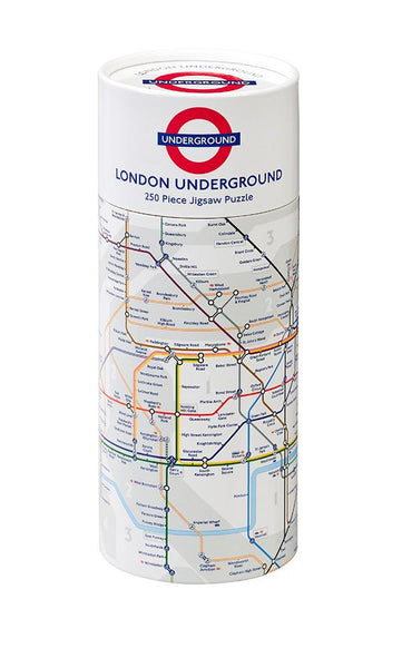 Gibsons TFL London Underground Map Jigsaw Puzzle (250 Pieces) in Gift Tube