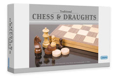 Deluxe Chess & Draughts Set (2.5 inch King)