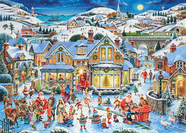Ravensburger Which One's Santa? Limited Edition Jigsaw Puzzle (1000 Pieces)