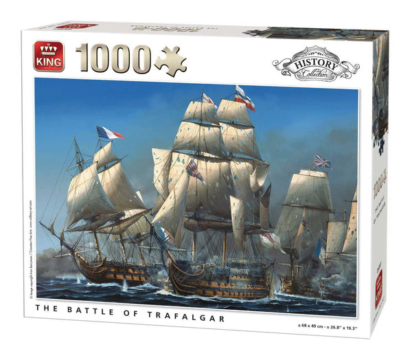 King Battle Of Trafalgar Jigsaw Puzzle (1000 Pieces)
