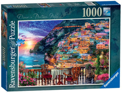 Ravensburger Dinner in Positano Italy Jigsaw Puzzle (1000 Pieces)