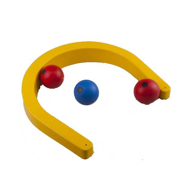 Horseshoe Target for New Age Kurling, Bowls and Boccia