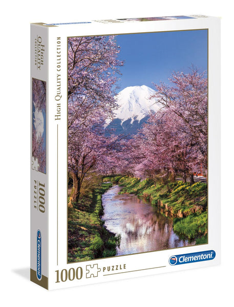 Clementoni Fuji Mountain High Quality Jigsaw Puzzle (1000 Pieces)