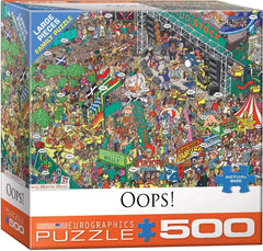 Eurographics Oops! - Martin Berry Jigsaw Puzzle (500 XL Large Pieces)