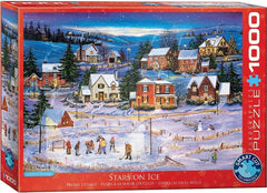 Eurographics Stars on the Ice Jigsaw Puzzle (1000 Pieces)