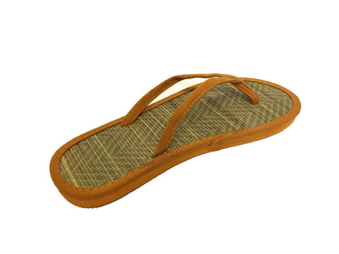 Ladies Womens Girls Bamboo Beach Flip Flops Casual Summer Slippers Sandals Shoes