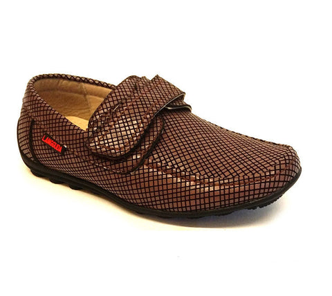 Kids Boys Formal Loafers Slip On Moccasins Wedding School Shoes Size UK 8-12