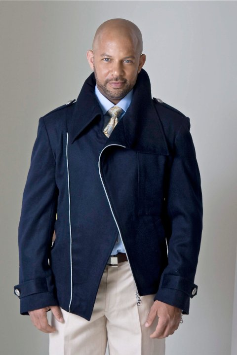 Luxury English Navy Blue Jacket | Chris Williams - TEBO DAMBE