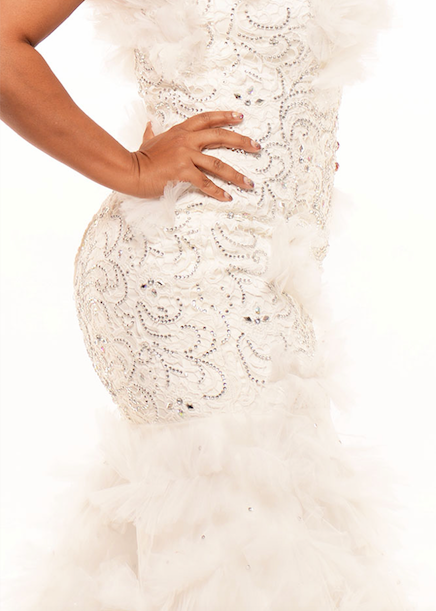 Desire' Wedding Gown - TEBO DAMBE