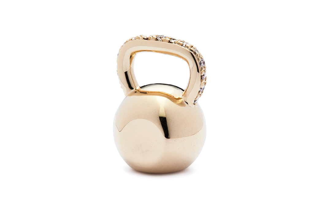 Large Kettlebell - Yellow Gold