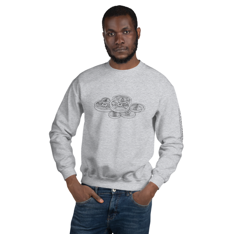 Plates Sweatshirt - Light Grey