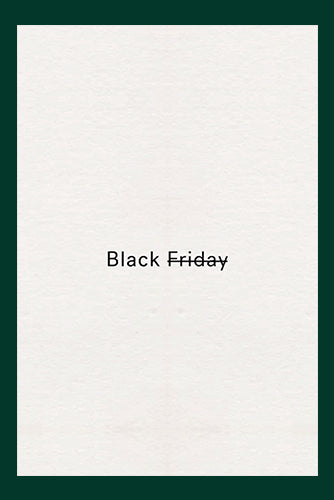 Le Black Friday devient Black for Good
