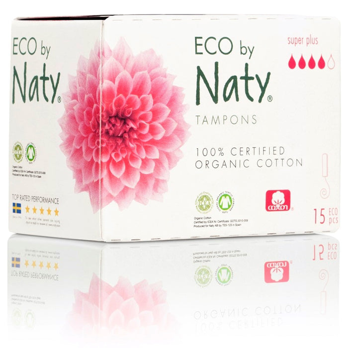 Naty - 15 Tampons Super Plus digital sans applicateur