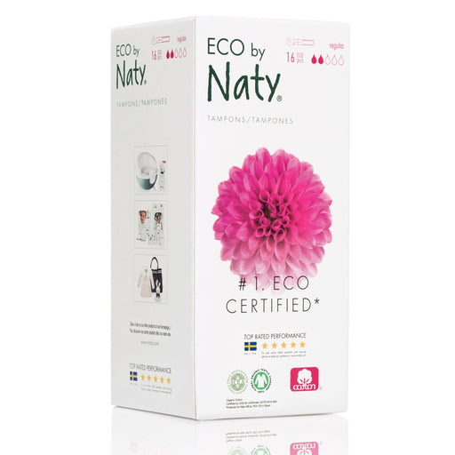 Naty - 16 Tampons Normal avec applicateur