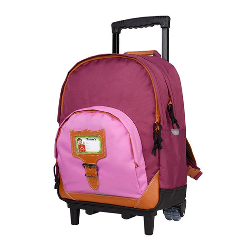 TANN'S - Cartable Trolley Iconic Violet parme