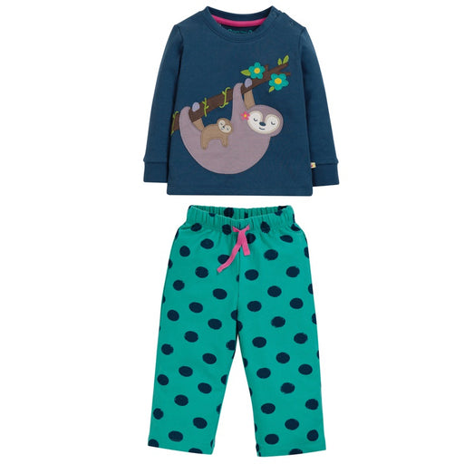 FRUGI - Pyjama Lou coton bio - Space Blue Sloth