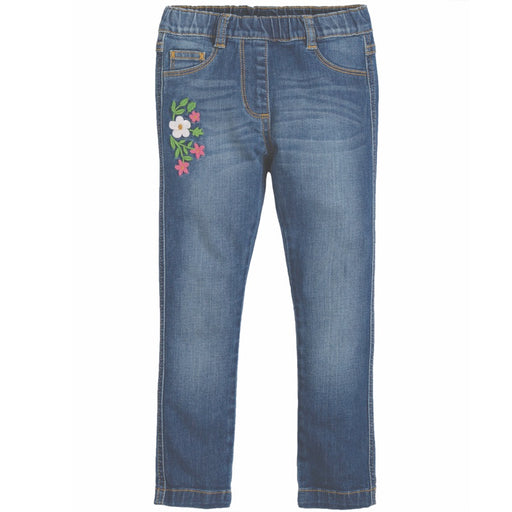 FRUGI - Jegging en coton bio Julie  - Mid Wash Denim