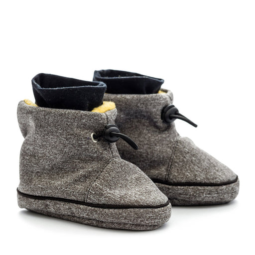 LILIPUTI - Bottines imperméables de portage - Grey Yellow