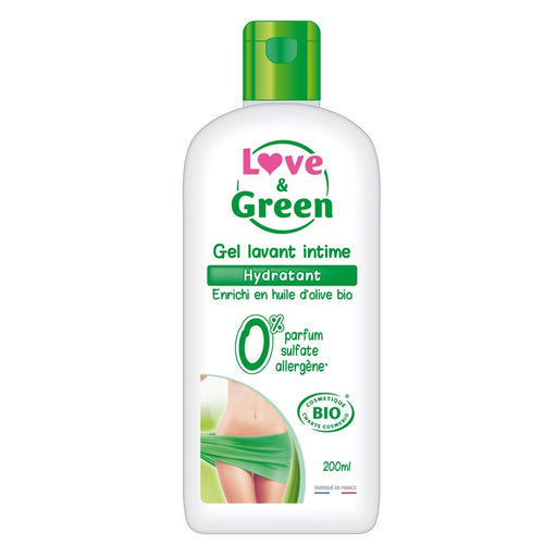 LOVE AND GREEN - Gel lavant intime hydratant bio