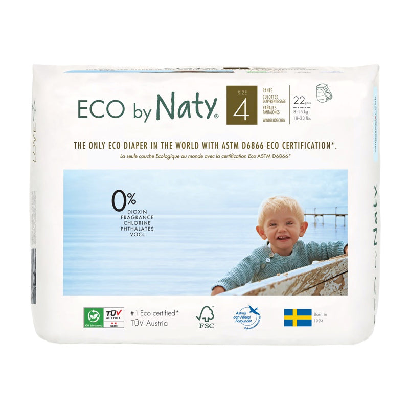 Naty - Culottes apprentissage jetables 8-15 kg