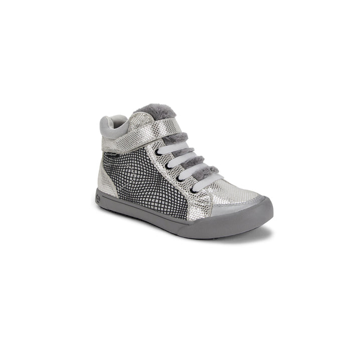 PEDIPED - Chaussures cuir souple Pediped Flex Logan Silver