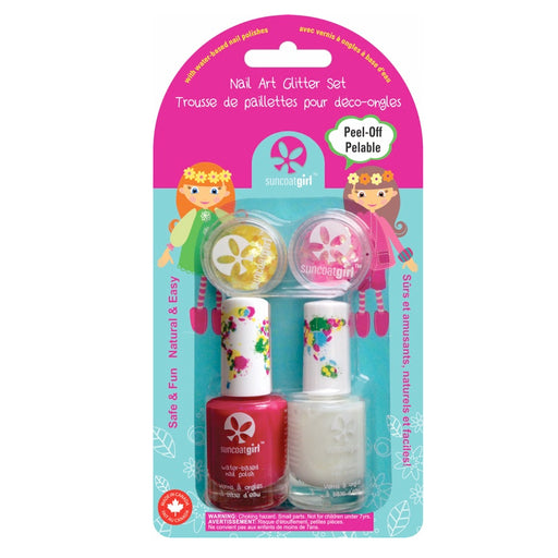 SUNCOAT GIRL - Kit Vernis à ongles à base d'eau pelable - Cheer Leader