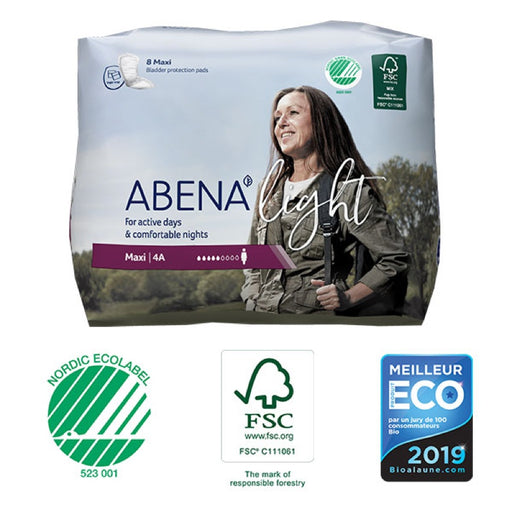 ABENA LIGHT - Protections anatomiques féminines - Maxi 4A