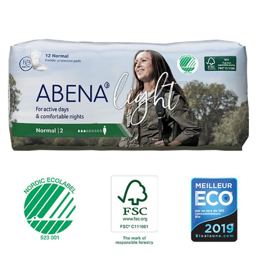 ABENA LIGHT - Protections anatomiques féminines - Normal 2