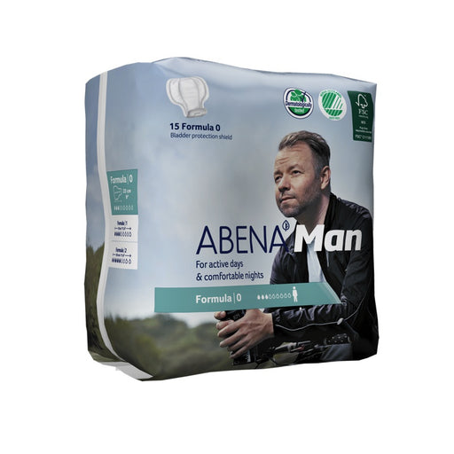 ABENA MAN - Protections anatomiques masculines - Formula 0