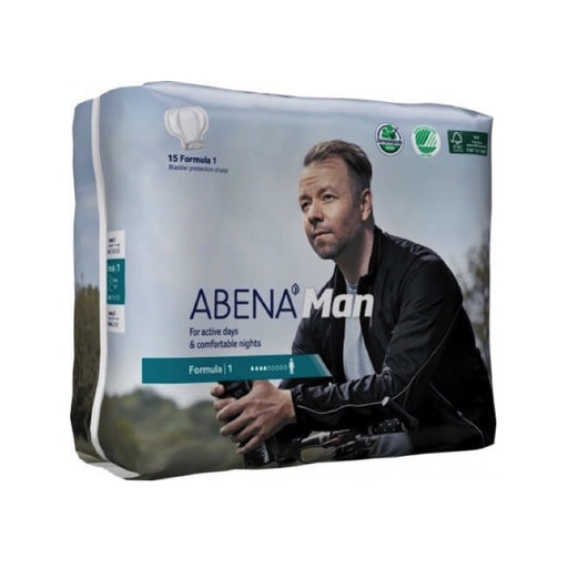 ABENA MAN - Protections anatomiques masculines - Formula 1