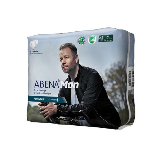 ABENA MAN - Protections anatomiques masculines - Formula 2