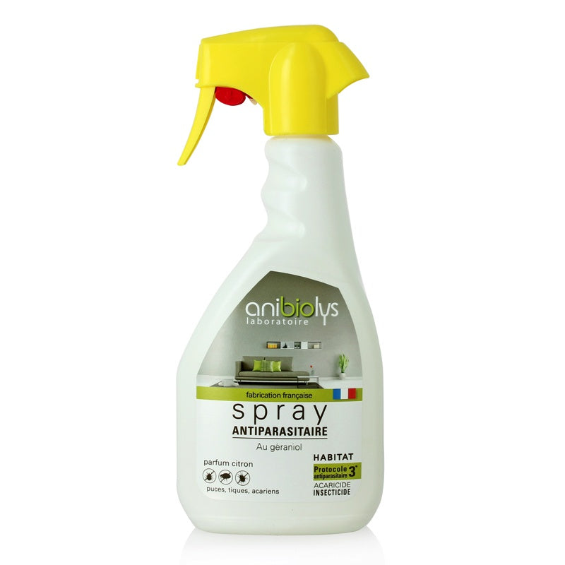 Anibiolys - Spray antiparasitaire Habitat 500 ml