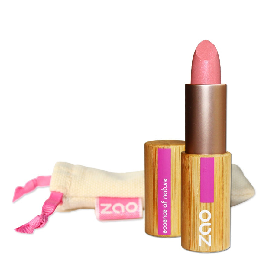 ZAO MAKE UP - Rouge à lèvres Nacré bio 402 Rose