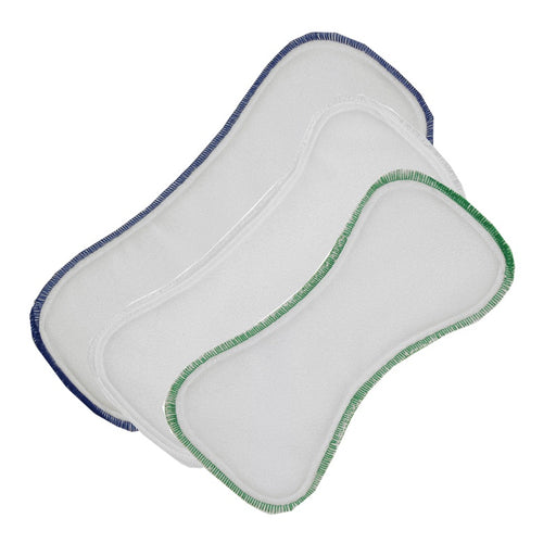 BEST BOTTOM DIAPER - Lots de 3 inserts en microfibre Stay Dry
