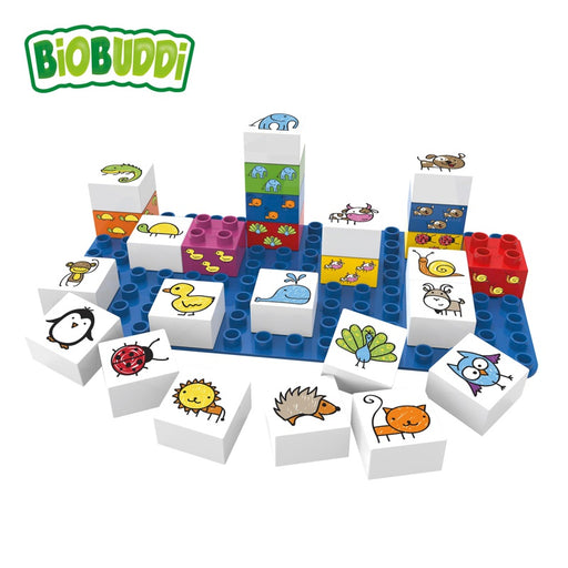 BIOBUDDI - Blocs de construction Learning Animals