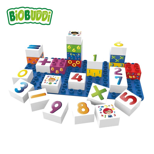 BIOBUDDI - Blocs de construction Learning Numbers