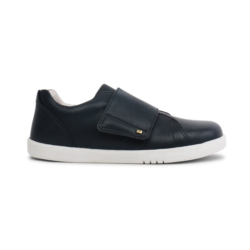 BOBUX -  Chaussures cuir souple Kid+ Boston - Navy