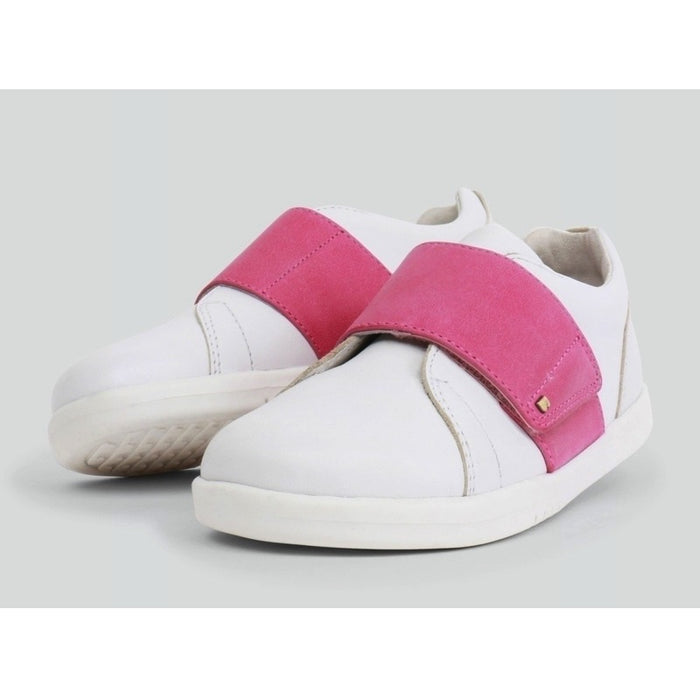 BOBUX -  Chaussures cuir souple Kid+ Boston - White Pink