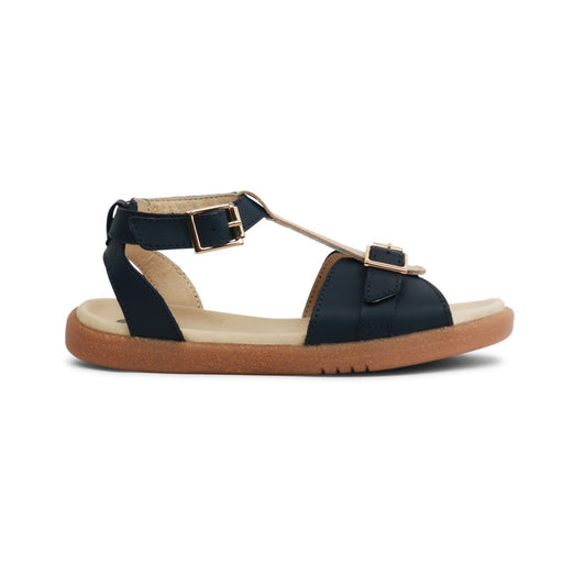 BOBUX -  Chaussures cuir souple Kid+ Hera - Navy Gold